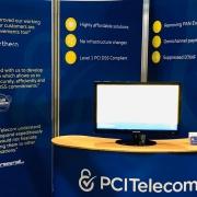 Call & Contact Centre Expo PCI Telecom exhibition stand